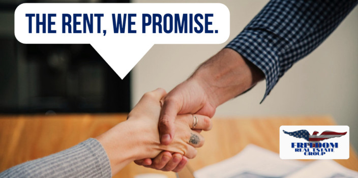We Promise Rent to You. No Really. We Do.