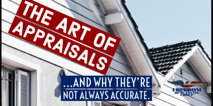 The Art of Appraisals and Why They're Not Always Accurate